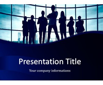 Business Team Free PowerPoint Template