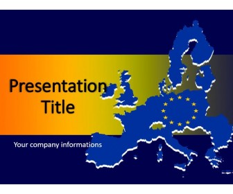 United Europe PowerPoint Template
