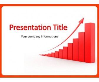 Up Arrow PowerPoint Template