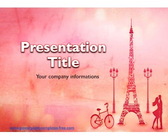Paris Free Powerpoint Templatate