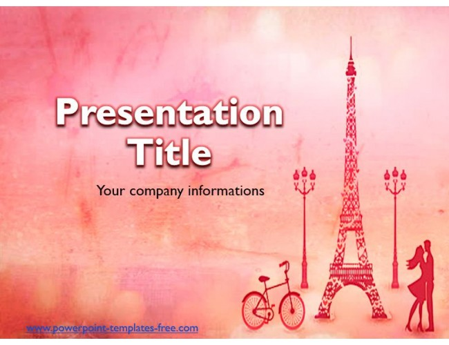 Paris Free Powerpoint Template Ppt Background