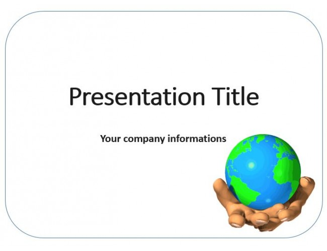 Animated earth free powerpoint template download free animated earth powerpoint templates toneelgroepblik Choice Image