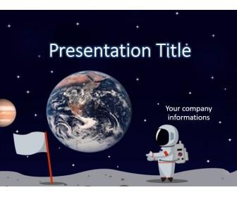 Astronaut PowerPoint Template