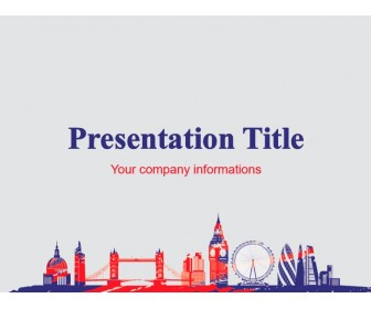 London's Famous Places Free Power Point Template