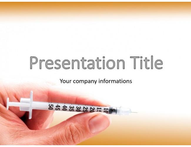 Diabetes powerpoint template free diabetes powerpoint template toneelgroepblik Image collections