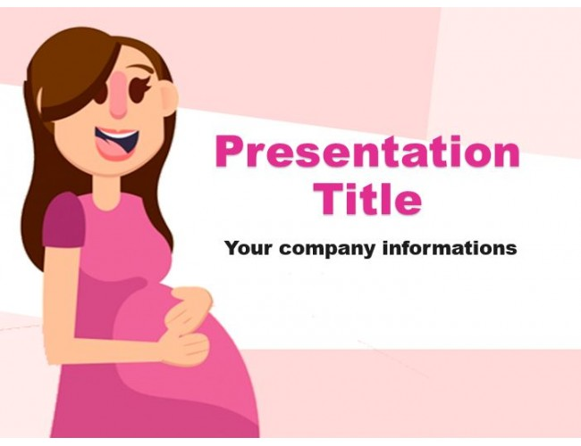 Pregnancy Powerpoint Template Free Download