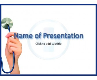 Medical Stethoscope Template