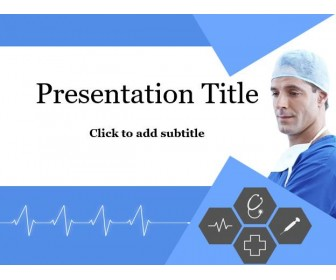 Doctor PowerPoint Template - Free Medical Template