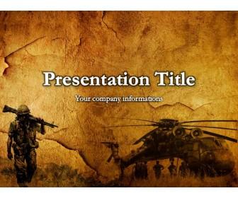 The Vietnam War Powerpoint Template