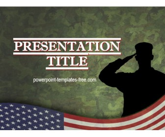 Free Veterans Day PowerPoint Template