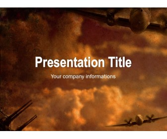 World War Planes Powerpoint Template