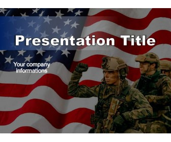 US Military Free PowerPoint Template