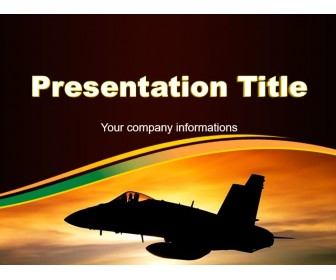 Military Aviation PowerPoint Free Template